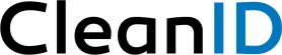 CleanID Logo_BlackandBlue